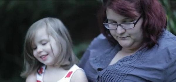 Amber and mum Lara