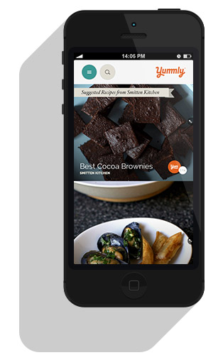 iPhone With Yummly App