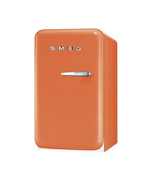 Retro Orange Smeg Minibar Cooler
