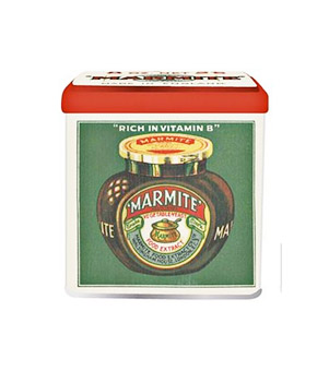 Retro Marmite Kitchen Storage Tin
