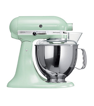 Retro Mint Green KitchenAid mixer