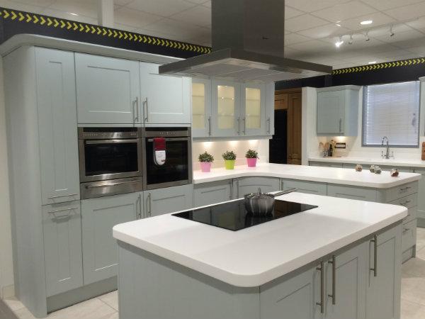 Light Pale Sky Designer Wren Kitchen