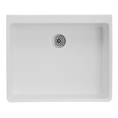 500x600 Grasmere Ceramic 1.0 Bowl White