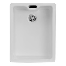 455x595 Langdale Deep Ceramic Belfast 1.0 Bowl White