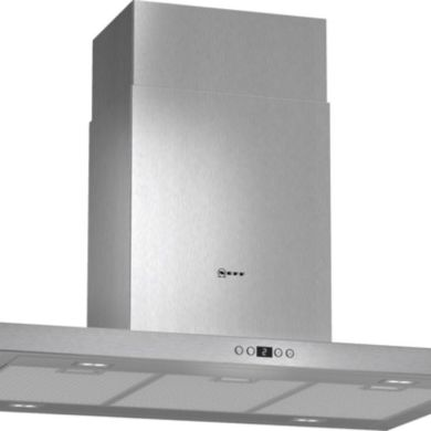 Neff H744xW900xD600 Island Cooker Hood - Stainless Steel