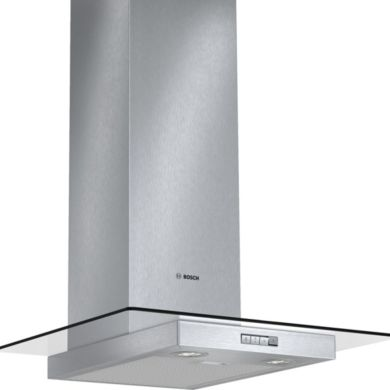 Bosch H634xW600xD540 Chimney Cooker Hood - Stainless Steel