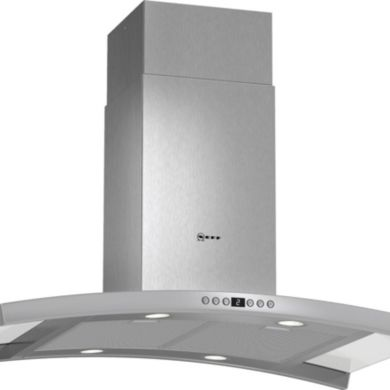 Neff H780xW900xD600 Island Cooker Hood - Stainless Steel and Glass