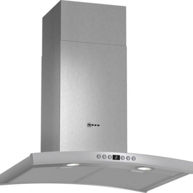 Neff H641xW600xD500 Chimney Cooker Hood - Stainless Steel