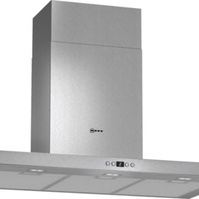 Neff H628xW900xD500 Chimney Cooker Hood - Stainless Steel