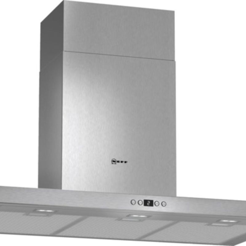 Neff H628xW900xD500 Chimney Cooker Hood - Stainless Steel primary image