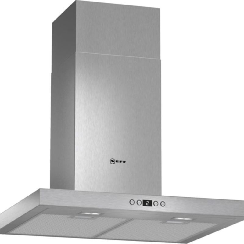 Neff H628xW600xD500 Chimney Cooker Hood - Stainless Steel - D76SH52N0B primary image