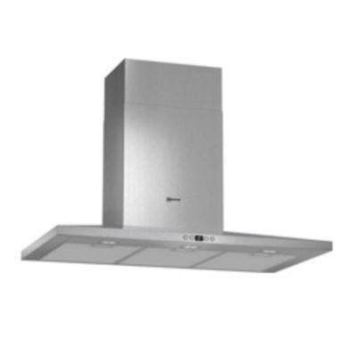 Neff H672xW900xD500 Chimney Cooker Hood - Stainless Steel