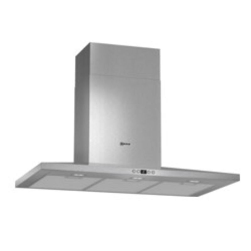 Neff H672xW900xD500 Chimney Cooker Hood - Stainless Steel primary image