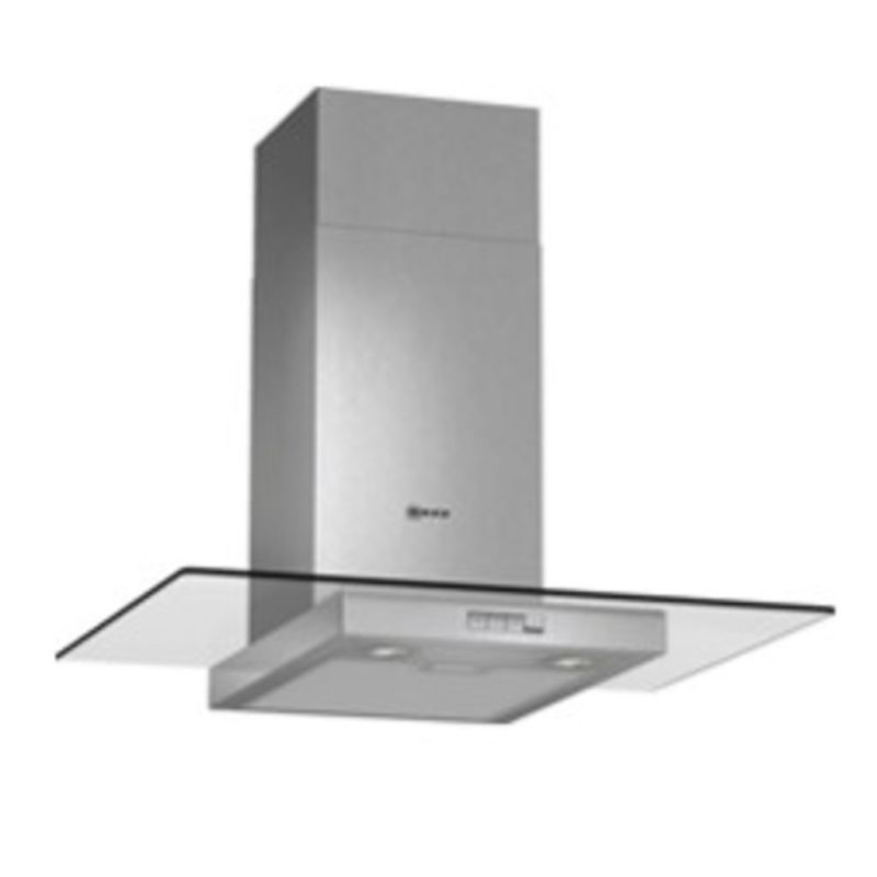 Neff H634xW700xD540 Chimney Cooker Hood - Stainless Steel and Grey Glass - D87ER22N0B primary image