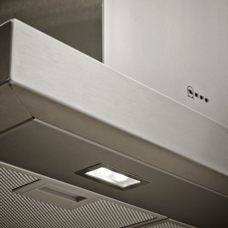 Neff H628xW900xD500 Chimney Cooker Hood - Stainless Steel additional image 3