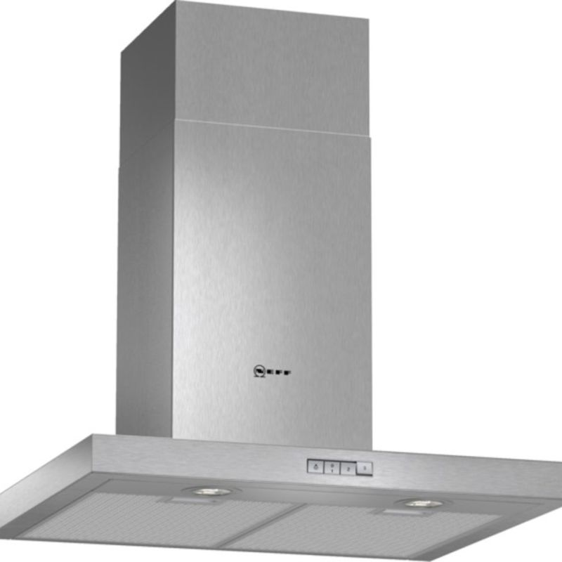 Neff H628xW600xD500 Chimney Cooker Hood - Stainless Steel primary image