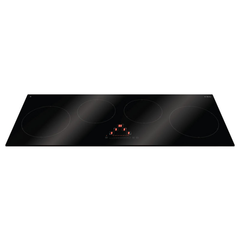 CDA H50xW900xD350 Linear Induction 4 Zone Hob - Black Glass primary image