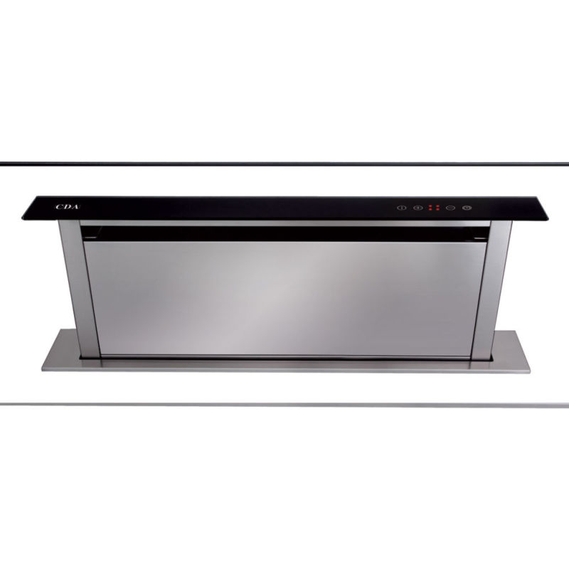 CDA H300xW860xD116 Downdraft Integrated Cooker Hood - Black primary image