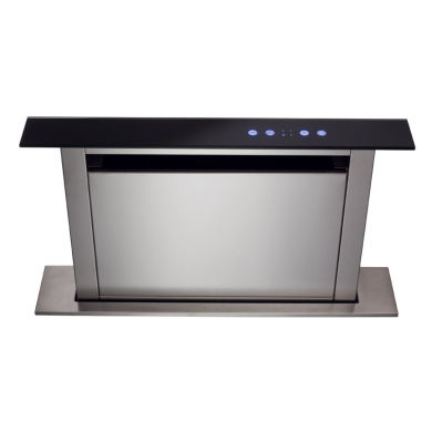 CDA H300xW560xD116 Downdraft Integrated Cooker Hood - Black
