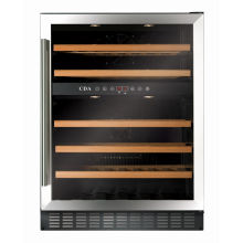 CDA H820-888xW595xD570 Under Counter Wine Cooler - Stainless Steel (2 Zone)
