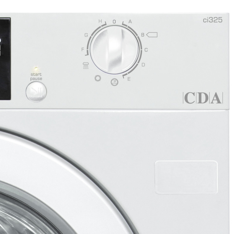 CDA H825xW595xD535 Fully Integrated Washer (6kg) additional image 1