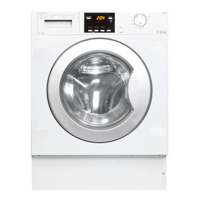 CDA H825xW595xD535 Fully Integrated Washer Dryer (6kg) - CI925