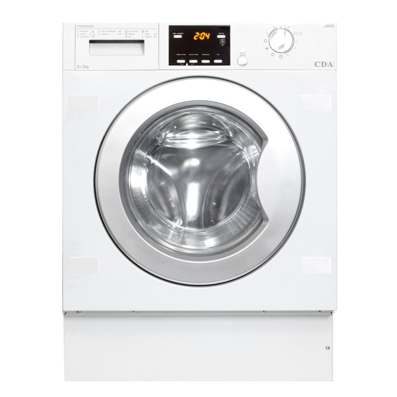 CDA H825xW595xD535 Fully Integrated Washer Dryer (6kg) - CI925 primary image