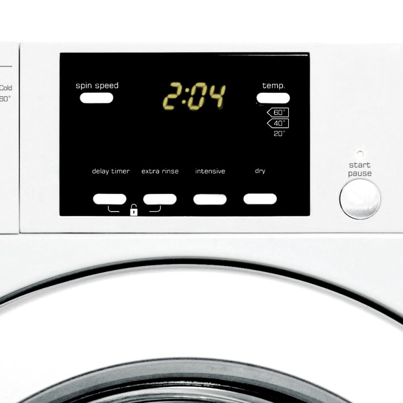 CDA H825xW595xD535 Fully Integrated Washer Dryer (6kg) - CI925 additional image 1
