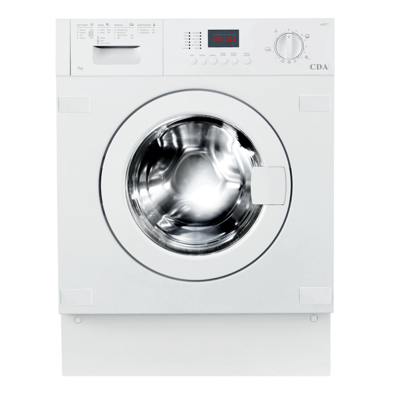 CDA H820xW596xD550 Fully Integrated Condenser Washer Dryer (7kg) primary image