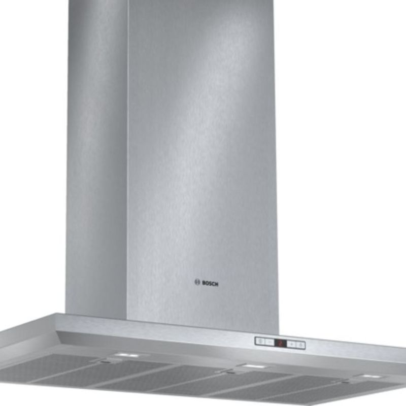 Bosch H628xW900xD500 Chimney Cooker Hood - Stainless Steel - DWB098E51B primary image