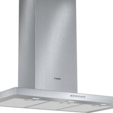Bosch H628xW900xD500 Chimney Cooker Hood - Stainless Steel