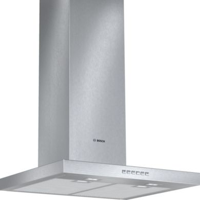 Bosch H628xW600xD500 Chimney Cooker Hood - Stainless Steel