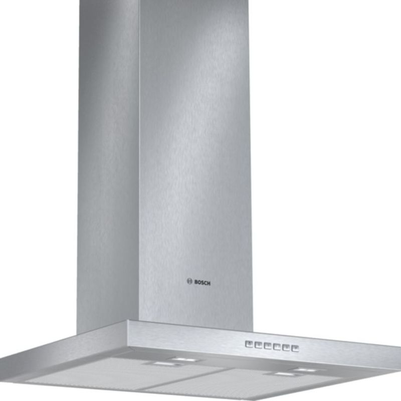 Bosch H628xW600xD500 Chimney Cooker Hood - Stainless Steel primary image