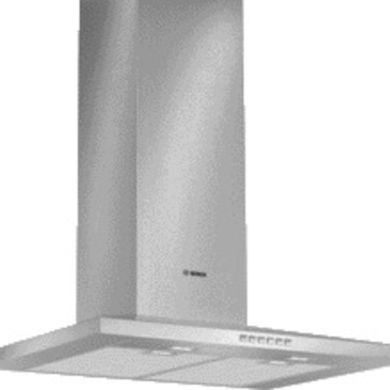 Bosch H672xW700xD500 Chimney Cooker Hood - Stainless Steel - DWW077A50B