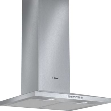 Bosch H672xW600xD500 Chimney Cooker Hood - Stainless Steel - DWW067A50B