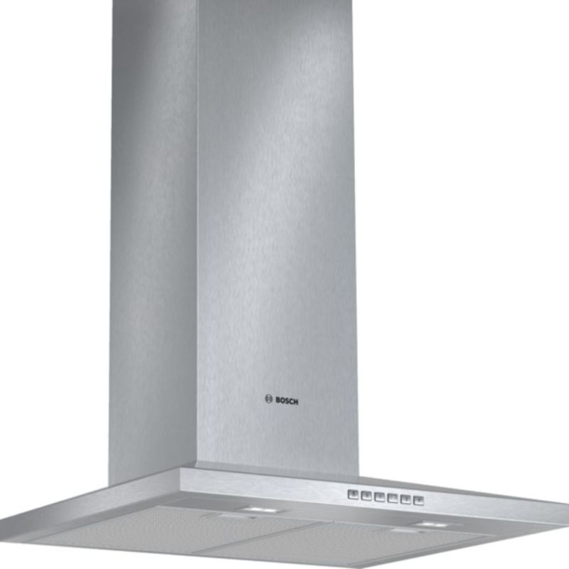 Bosch H672xW600xD500 Chimney Cooker Hood - Stainless Steel - DWW067A50B primary image