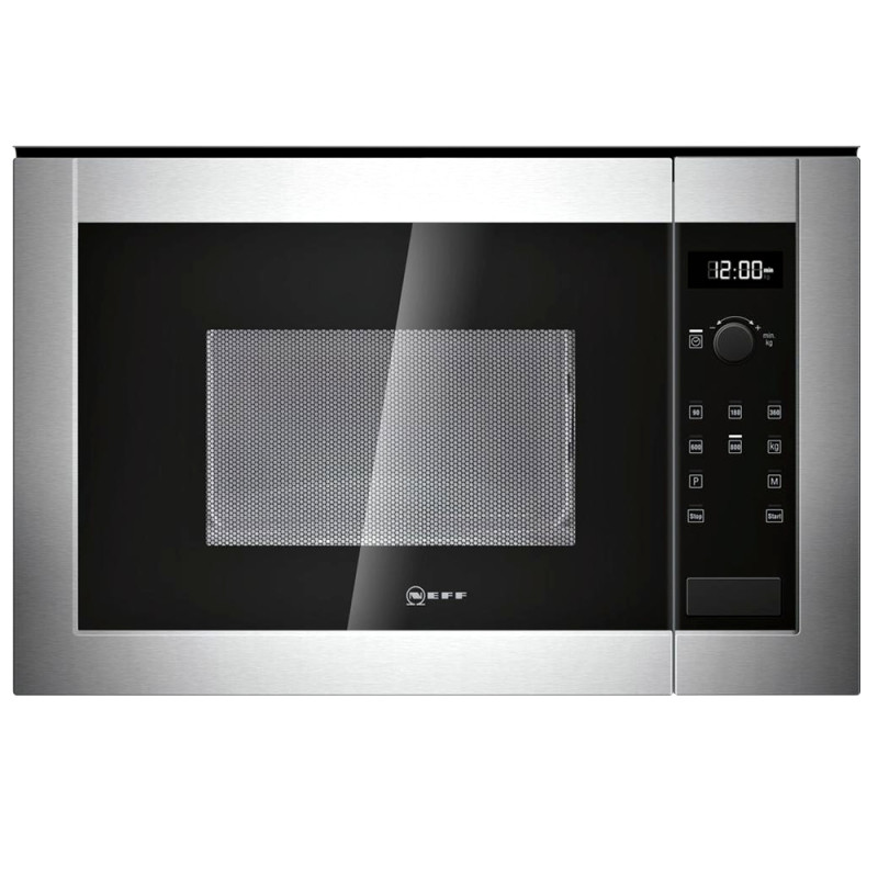 Neff H382 xW594xD317 20L Integrated Wall Microwave - Stainless Steel - H11WE60N0G primary image