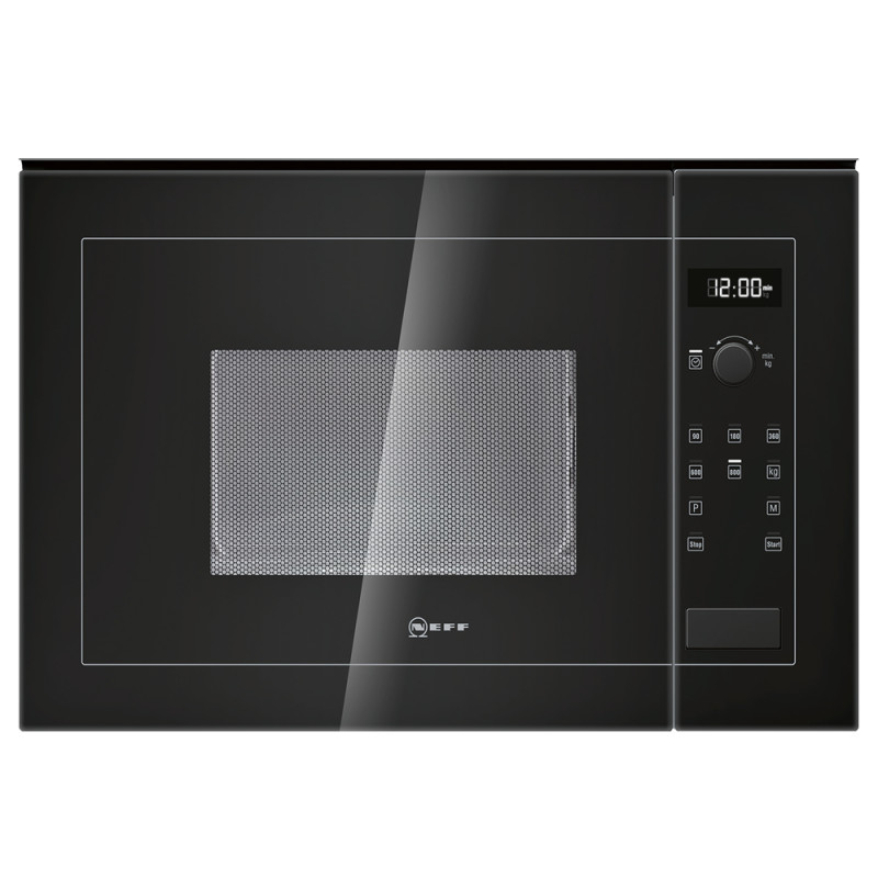 Neff H382xW594xD317 20L Integrated Wall Microwave - Black - H11WE60S0G primary image