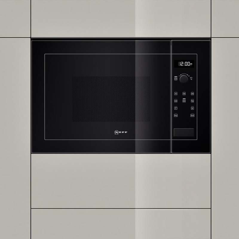 Neff H382xW594xD317 20L Integrated Wall Microwave - Black - H11WE60S0G additional image 5
