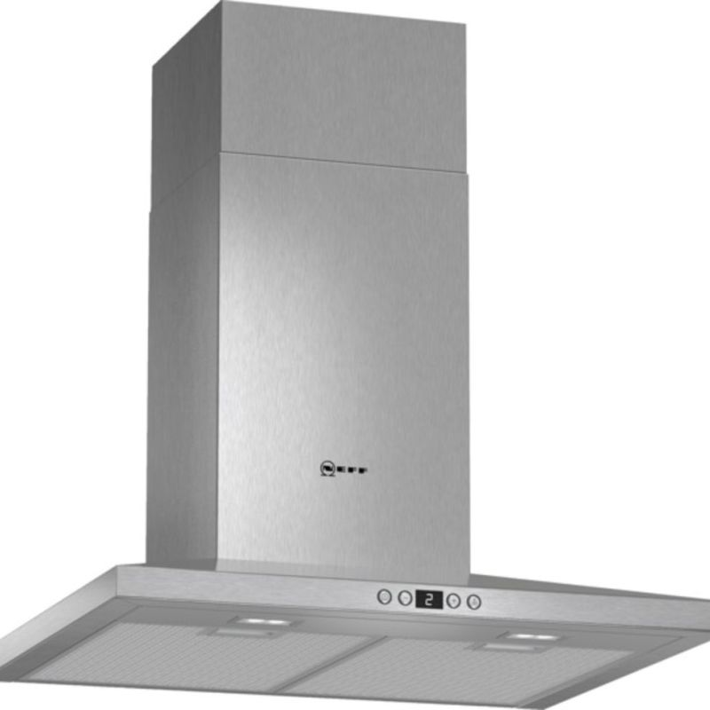 Neff H672xW600xD500 Chimney Cooker Hood - Stainless Steel primary image
