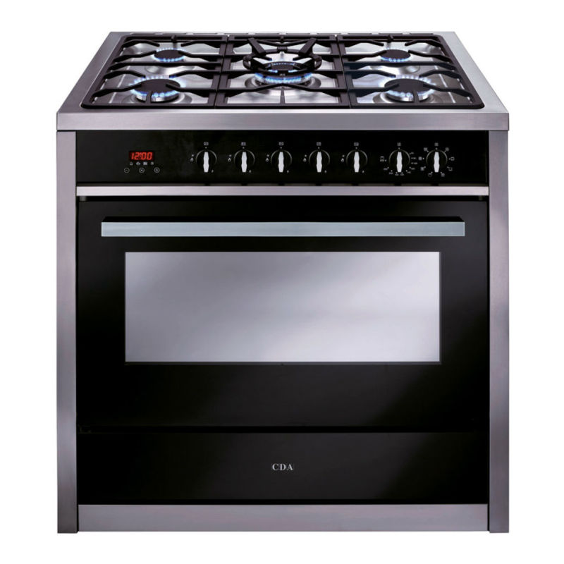 CDA H910xW900xD600 900mm Dual Fuel Rangecooker Single Cavity - Stainless Steel - RV911SS primary image