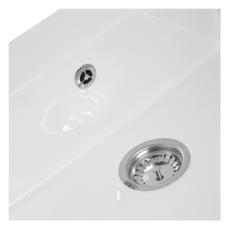 595x665 Easedale Ceramic Bow Fronted Belfast Sink additional image 4