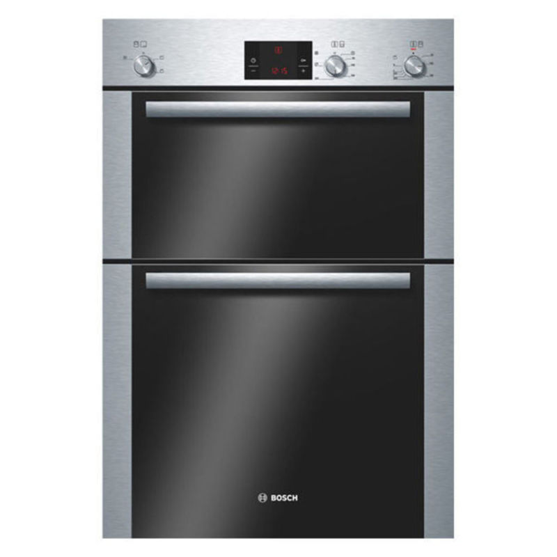 Bosch H888xW595xD550 Built-In Electric Double Fan Oven - Stainless Steel primary image