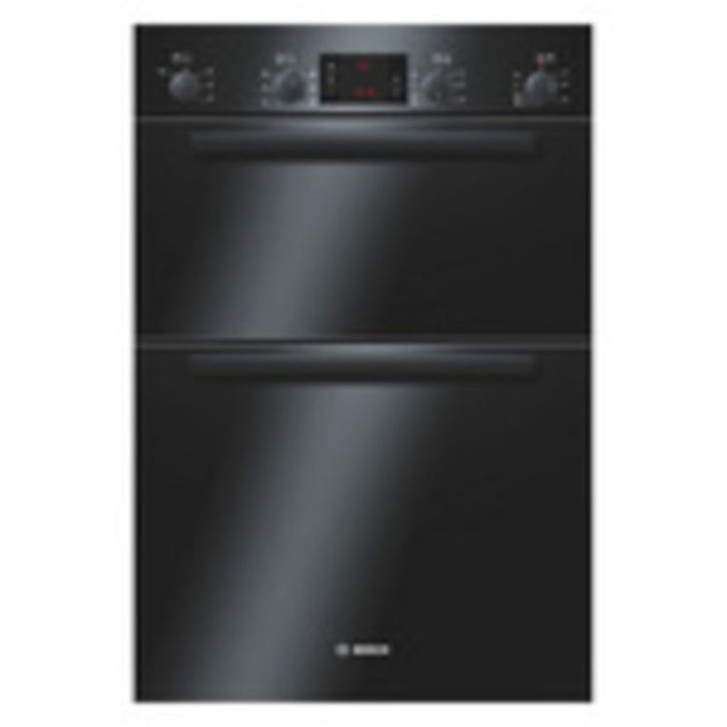 Bosch H888xW595xD550 Built-In Electric Double Multi-Function Oven - Black primary image
