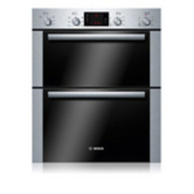Bosch H717xW595xD550 Built-Under Electric Double Multi-Function Oven - Stainless Steel
