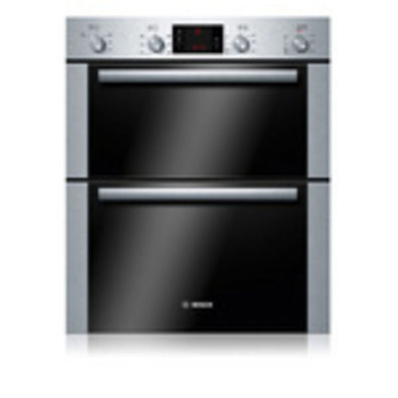 Bosch H717xW595xD550 Built-Under Electric Double Multi-Function Oven - Stainless Steel primary image