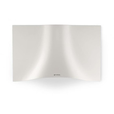Faber H573xW898xD361 Veil  Wall-mounted Cooker Hood - White Corian