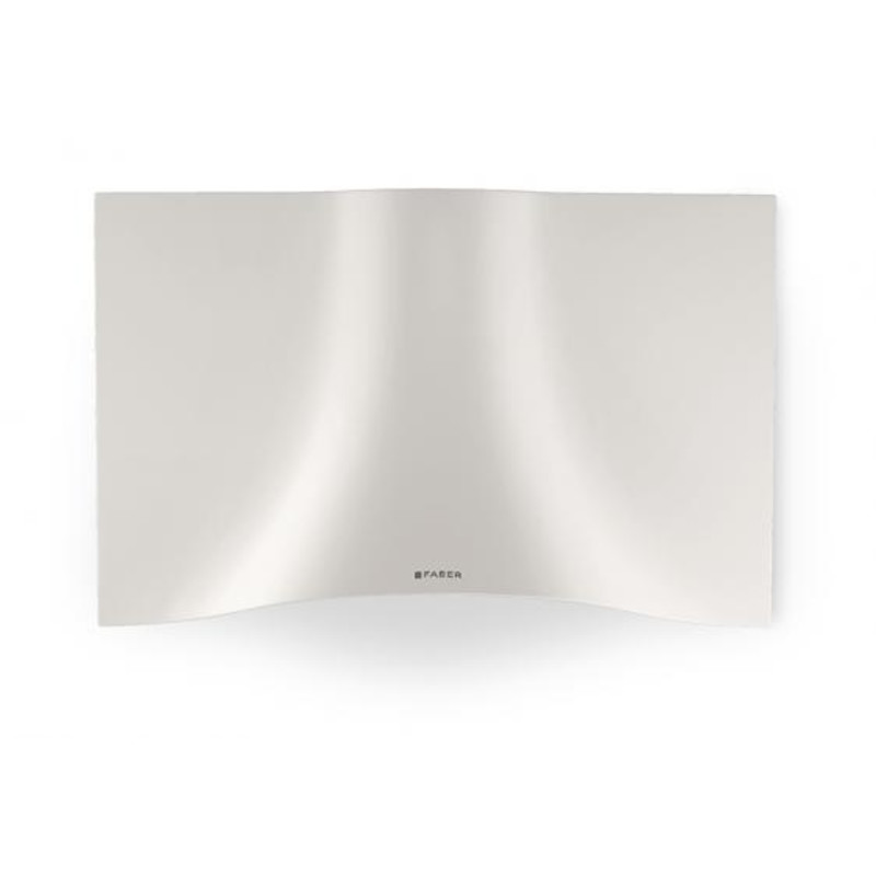 Faber H573xW898xD361 Veil  Wall-mounted Cooker Hood - White Corian primary image