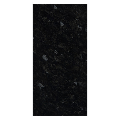 2960x1200x12 Worktop Rhino Edge-Black Granite Gloss