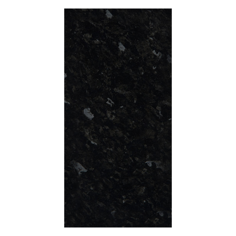 2960x1200x12 Worktop Rhino Edge-Black Granite Gloss primary image